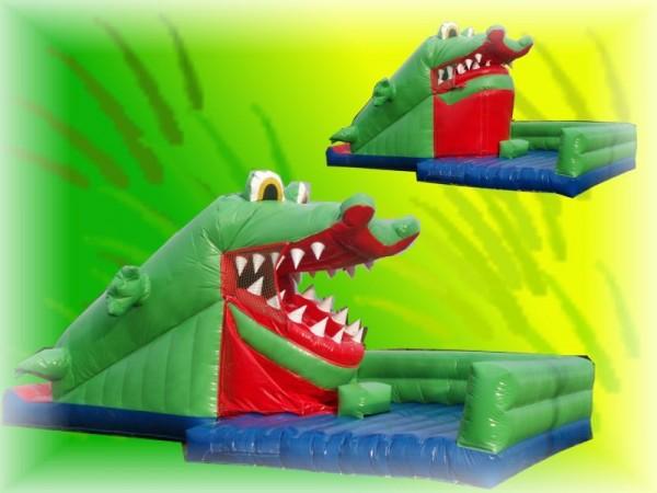 Snappy Kroko mit bewegl. Maul und Rutsche