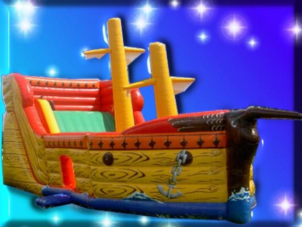 Kletterrutsche Spielschiff