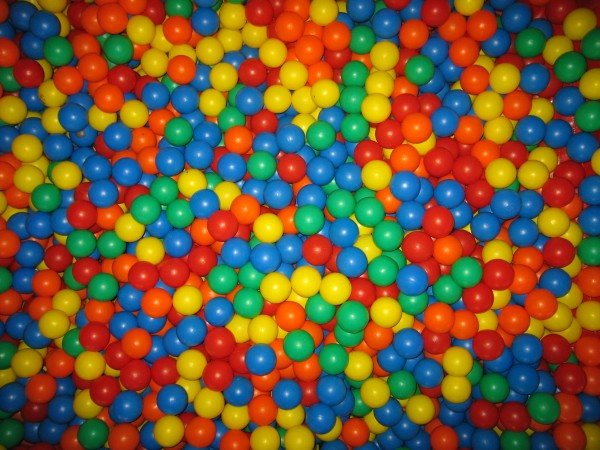 Plasitc Bälle für Ballpools (75mm Durchmesser)