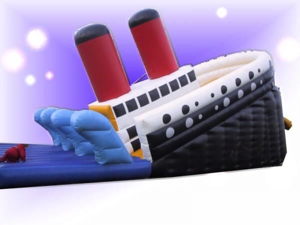 Kletterrutsche Titanic