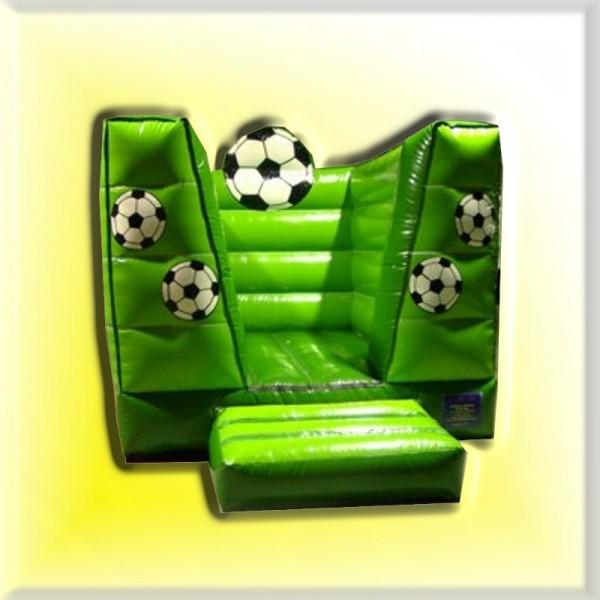 Hüpfburg Fußball